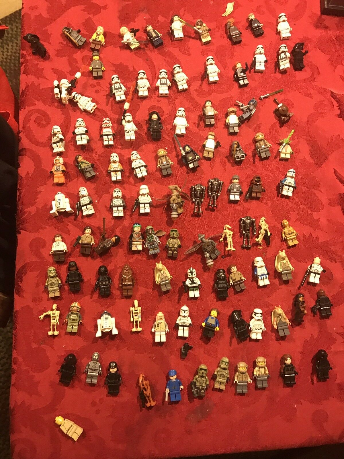 Lego star wars minifigure lot lot lot 11646f