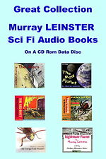 Murray LEINSTER - Sci Fi Audio Books on a CD Data Disc