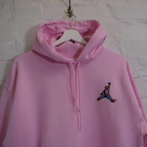 sudadera rosa jordan mujer