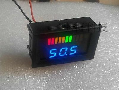 60v Acid lead batteries indicator Battery capacity LED Tester volt meter UPS car
