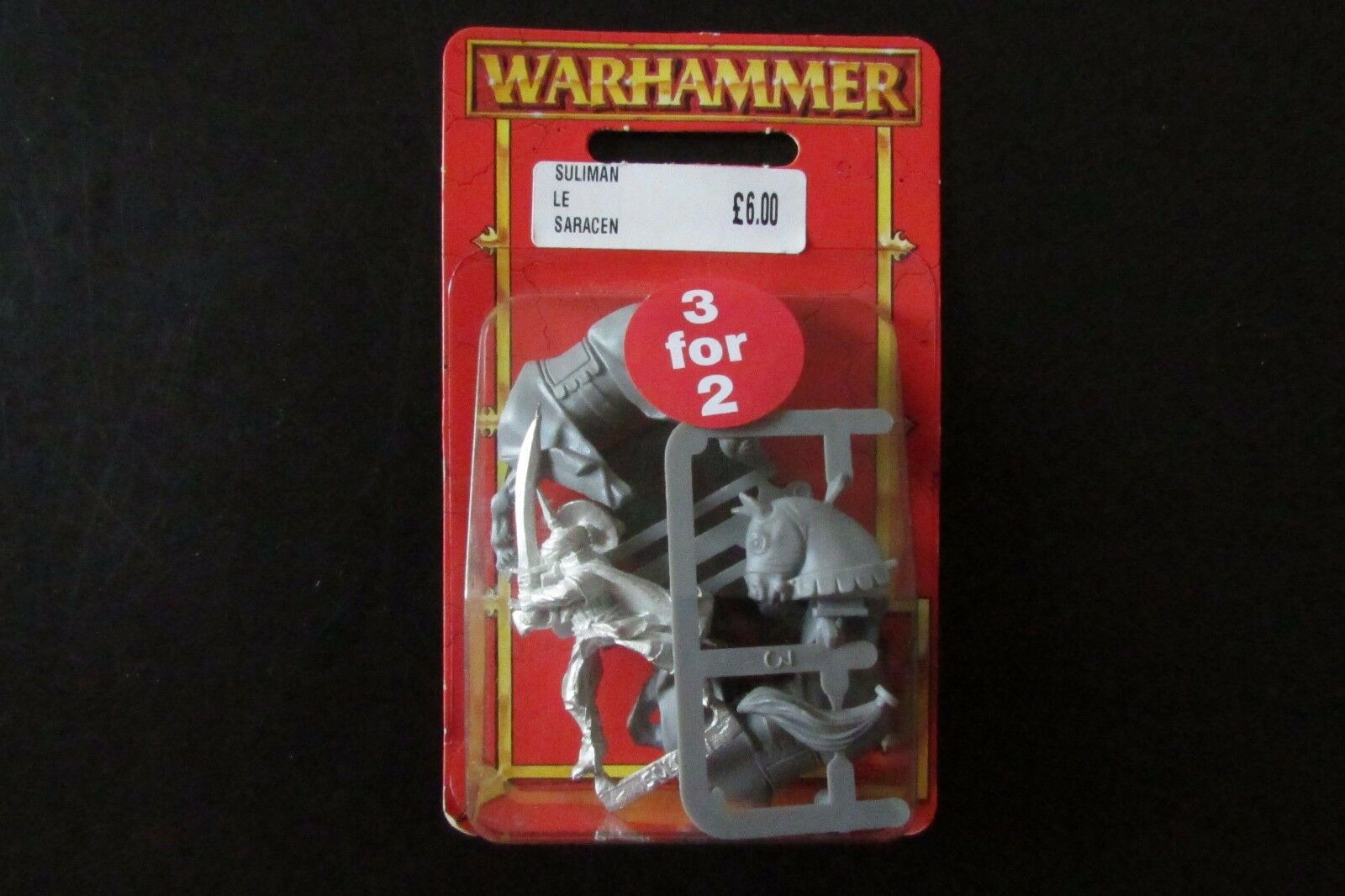 OOP Citadel   Warhammer Empire   Araby Dogs Of War Sulimen The Saracen BNIB