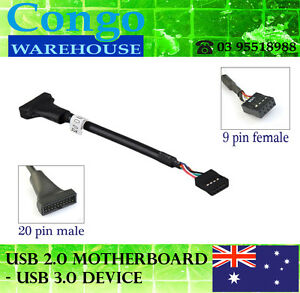 5-x-USB-3-0-20-Pin-Male-Header-to-USB-2-0-9-pin-female-Adapter-for-motherboard
