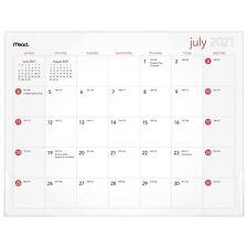Mead Basic July 2021 June 2022 Mini Monthly Desk Pad 11 X 8 12 Julian