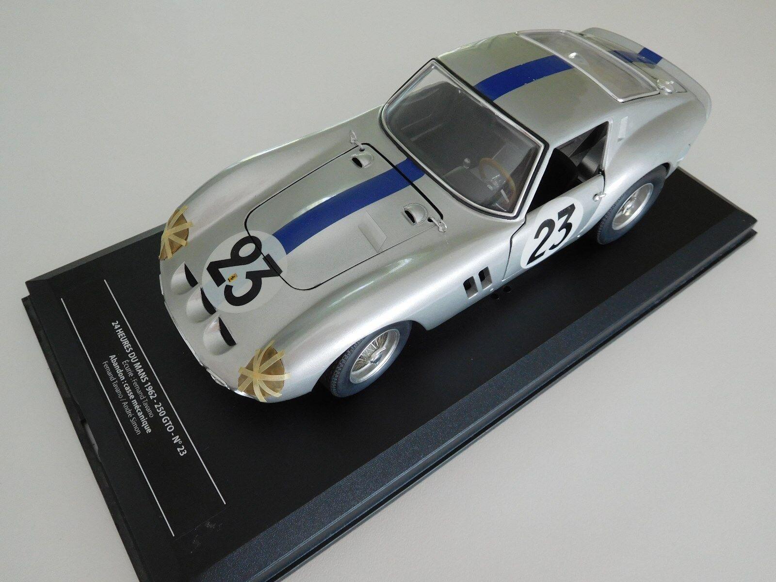 24 HFERRARI  250 GTO 62 LE hommeS 1962   23 1 18 prépa Apyvoitures  pour la vente en gros