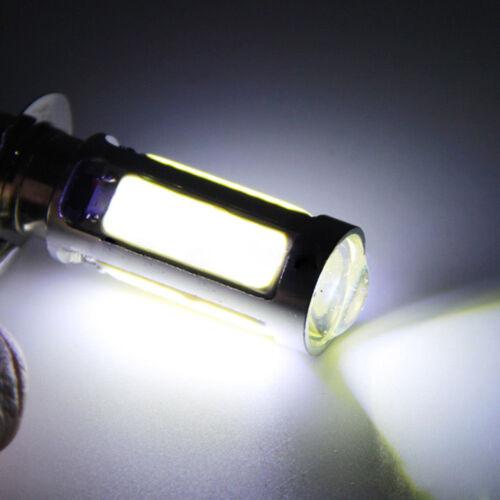 1X white cOB LED motor bike//ATV headlight bulb fog light H6M PX15d P15D25-1`E401