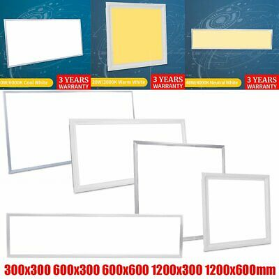 LED Panel 120x60 120x30 60x60 60x30 30x30 Deckenlampe Pendelleuchte Ultraslim DE