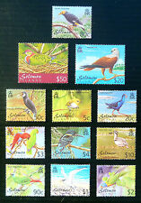 SOLOMON ISLANDS 2001 Birds Complete to $50 SG976/987 U/M WHOLESALE PRICE BN1339