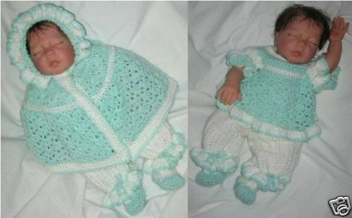 Prem //Reborn//Jenny MPN CRO117 by  Frandor Formats Crochet pattern