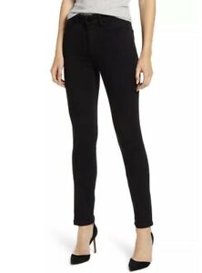NWT Paige Denim Leggy Ultra Skinny Jeans in Rissy Transcend Mid Rise