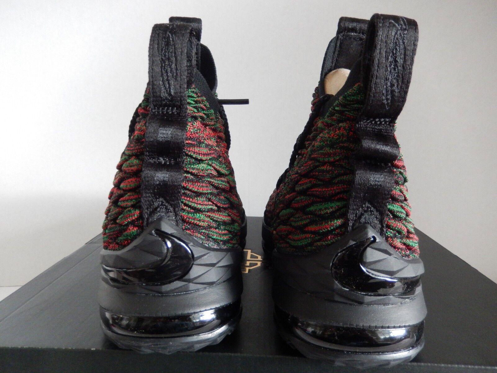 Nike lebron bhm xv 15 bhm lebron begrenzte multi - color-schwarz sz 9 selten![897650-900] 7a7da5