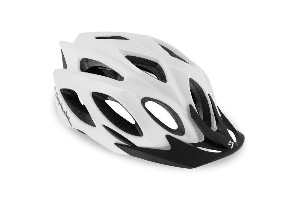 Spiuk Rhombus Fahrradhelm Bike Helm Fahrrad Rad MTB Mountainbike white 58-62 M-L