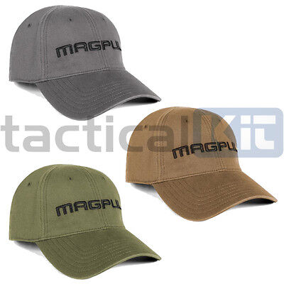 Magpul Core Cover Wordmark Low Crown Stretch Fit Tactical Baseball Cap Hat Khaki