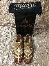 Men's Mauri Genuine Alligator Shoes Size 8 1/2 M