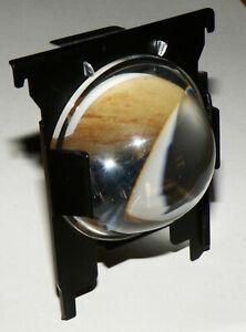 Kondensorlinse für Diaprojektor Zeiss Ikon/ZETT/Unimat AFS Royal 57x27mm