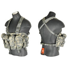 Airsoft AK Chest Rig Tactical VEST Magazine Clip Pouch Combat Gear CA-308A ACU