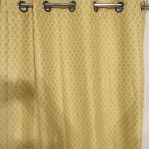 Unbranded Light Blocking Curtain Panel Yellow Gold 50 Quot X