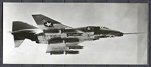 Postcard-1230-Aircraft-Aviation-Real-Photo-Mc-Donell-Phantom-II-Large-Card
