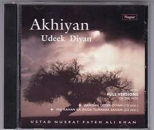 AKHIYAN UDEEK DIYAN - USTAD NUSRAT FATEH ALI KHAN CD NUPUR 2002