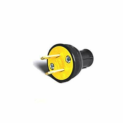 Fit All Residential Vacuum Cleaner Black Female 2 Prong Plug # 32-5632-64