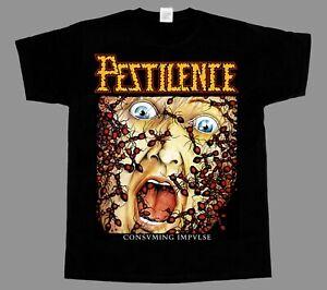 Pestilence-Consuming-Impulse-NEW-BLACK-SHORT-LONG-SLEEVE-T-SHIRT