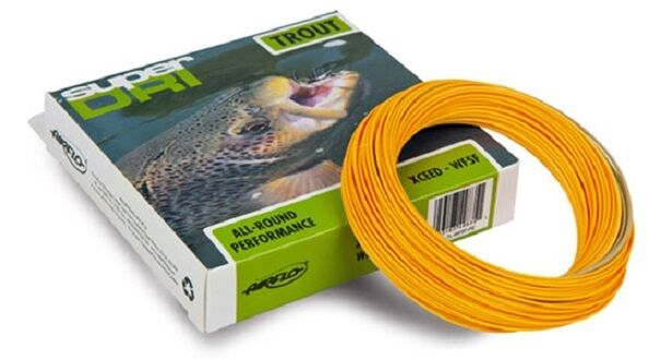 Airflo SUPER DRI XCEED TROUT Fliegen Line High Performance WF-3 Thru WF-9 Pumpkin