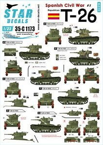 Star-Decals-1-35-Republican-T-26-T-26-m-1933-Spanish-Civil-War-5-35C1173