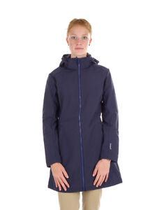 Cmp Zip Woman Coat Softshellmantel Winddicht Dunkelblau Hood Jacke xpnTAEwp