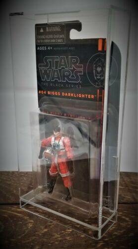 UV PROTECTION ACRYLIC DISPLAY CASE FOR STAR WARS CARDED BLACK SERIES FIGURE