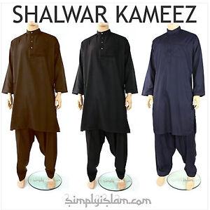 ea1fd98393 Image is loading Mens-Shalwar-Kameez-Black-White-Indian-Pakistani-Salwar-
