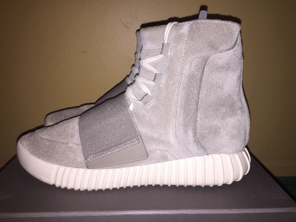 Adidas Yeezy Boost 750 Size 8 solar red October kanye