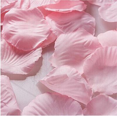 1000pcs Various Colors Silk Flower Rose Petals Wedding Party Decorations