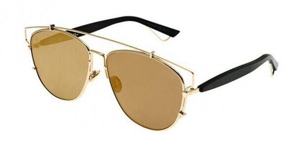 ☆ Ex Display - Authentic Dior Technologic RHL83 Gold Mirror Sunglasses RRP ☆
