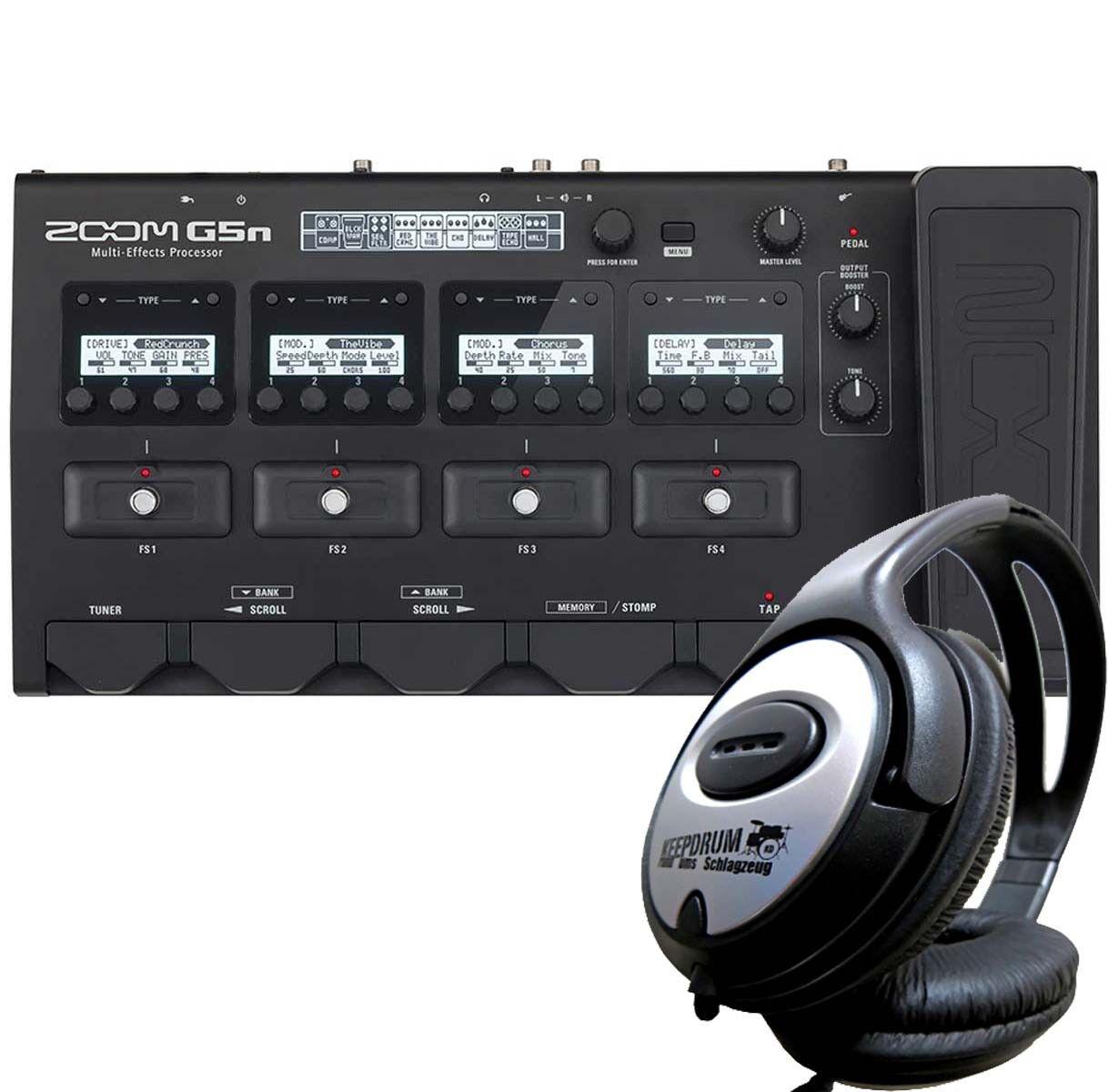 Zoom G5n G5n G5n Guitarra Multi Efectos Procesador + Auriculares  buscando agente de ventas
