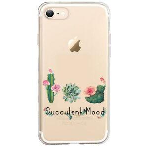Coque Iphone 7 8 SE 2020 succulent cactus