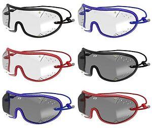 Kroops Original Racing et Parachutisme Goggle Blue Gray