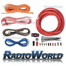 knukonceptz kca true 1 0 gauge power amp wiring install kit w 250a rh ebay co uk