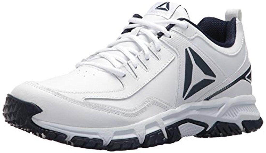 Men's Reebok RIDGERIDER CN0955 White Navy shoes Brand New