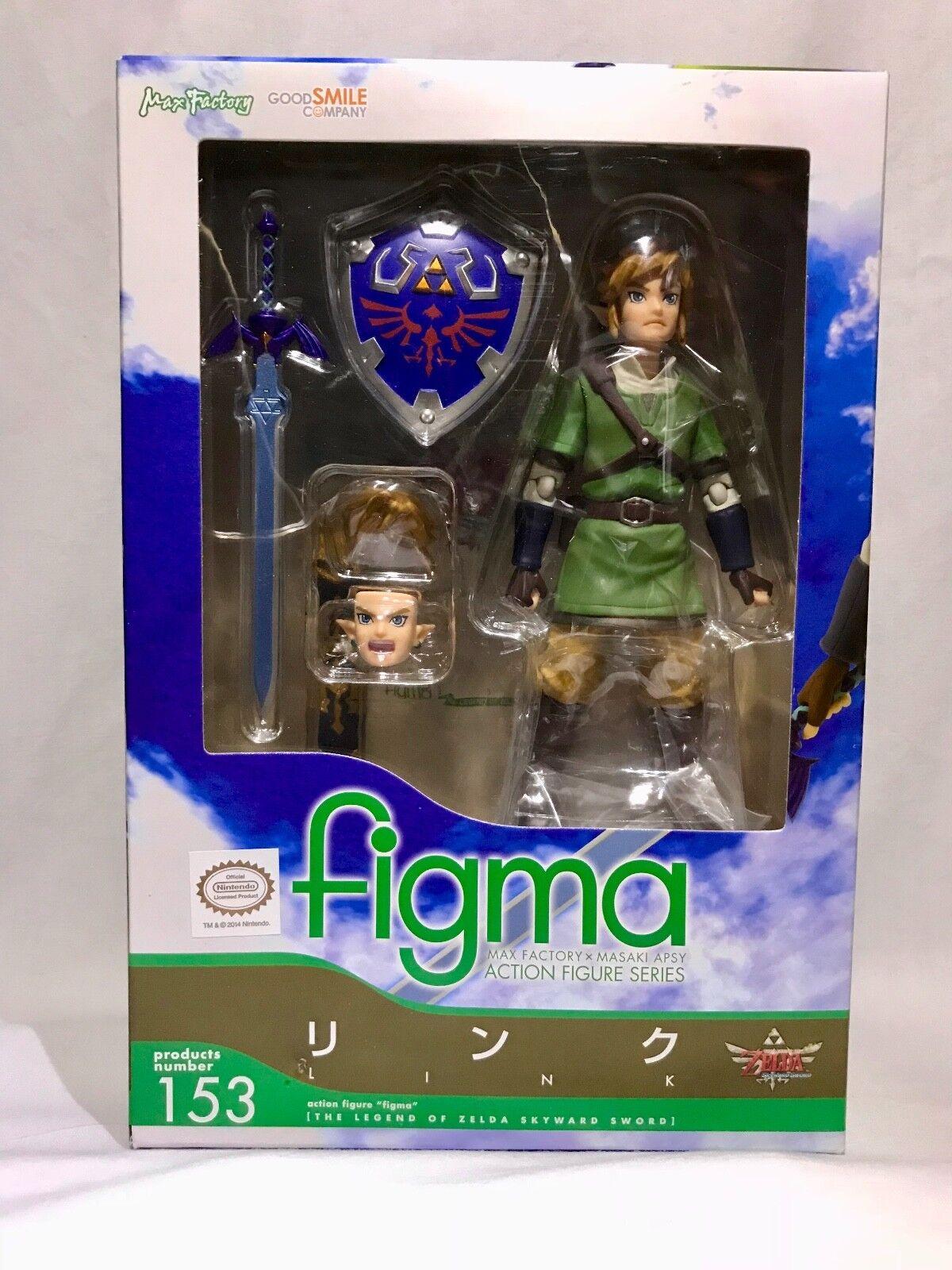 USA NEW The Legend of Zelda Zelda Zelda  Skyward Sword Link Figma 153 Action Figure 71bb17