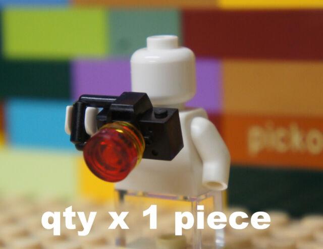 Lego Minifig Camera : Lego black camera lens and flash for minifig 30089 ebay