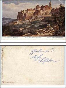 BETHLEHEM-Westjordanland-AK-1910-20-Geburtskirche-Kirche-Church-of-Nativity