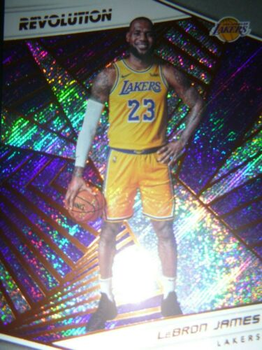 201819 Panini Revolution LeBron James Los Angeles Lakers Card #40