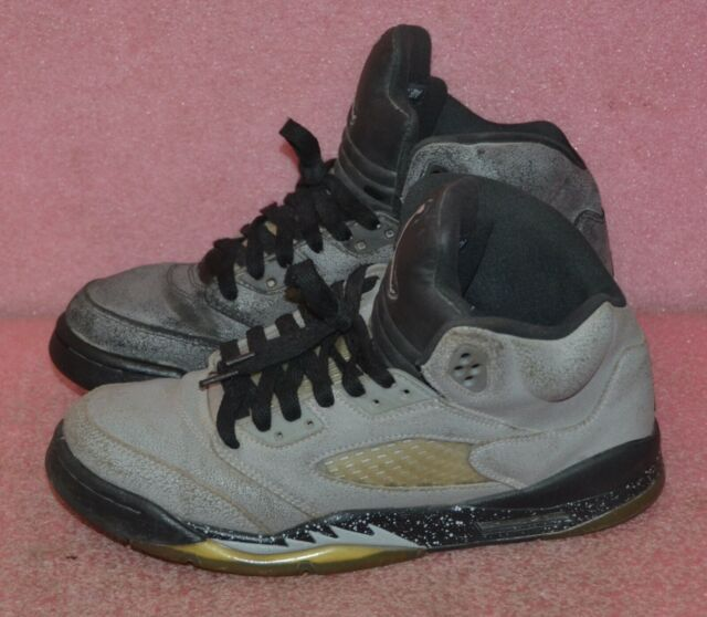 Nike Air Jordan V 5 Retro GG Wolf Grey 440892-008 Size 8.5Y.
