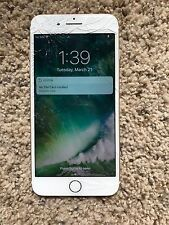 Apple iPhone 7 Plus - 32GB - Gold (AT&T) Cracked Screen Clean ESN And iCloud