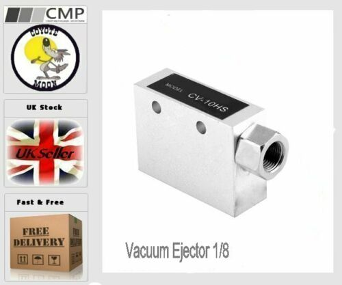 Estrattore A Vuoto 1//8 Pneumatica Raccordo 0.1 ~ 0.6Mpa 46L//min CV-10HS