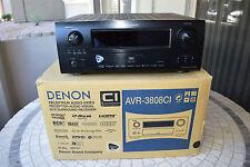 DENON AVR-3808ci 7.1 CHANNEL HOME THEATER AV RECEIVER - Original Owner
