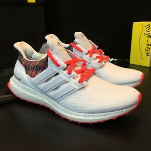 2a8cbeff32fe8 Brand New Adidas Ultra Boost 2.0 MiAdidas Rainbow   White Men Size 9 ...
