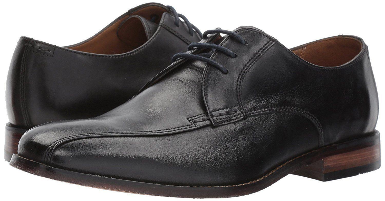 Neu Clarks Bostonian Erzählung Walk Schwarz Leder Sohle Kleid Bequeme Schuhe