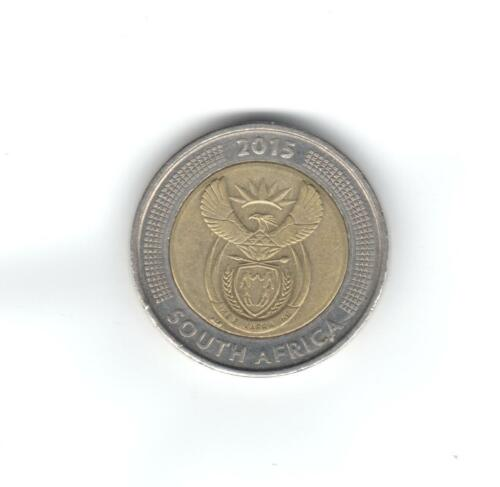 South Africa 2015 Five Rand VF 5