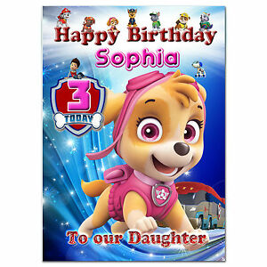 Image Is Loading C294 Large Personalised Birthday Card Custom Made For