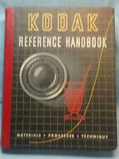 KODAK REFERENCE HANDBOOK 1947 FILM CAMERAS LENS SLIDES PROCESSING
